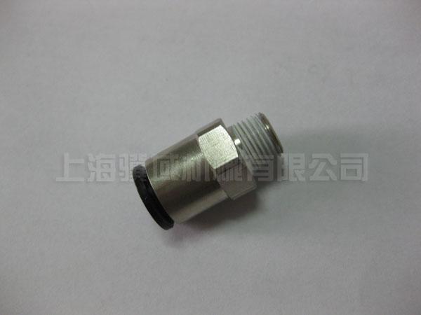 金属快插接头φ8mm×1-8螺纹