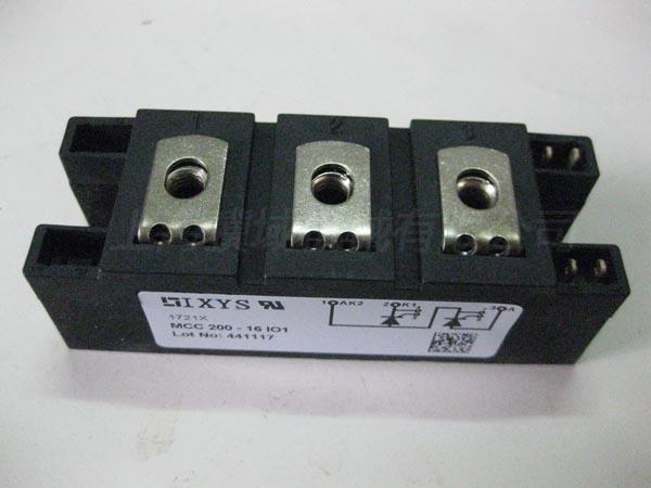 MCC200-16I01 可控硅(品牌IXYS)